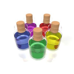 ガラスびん容器のイメージ
